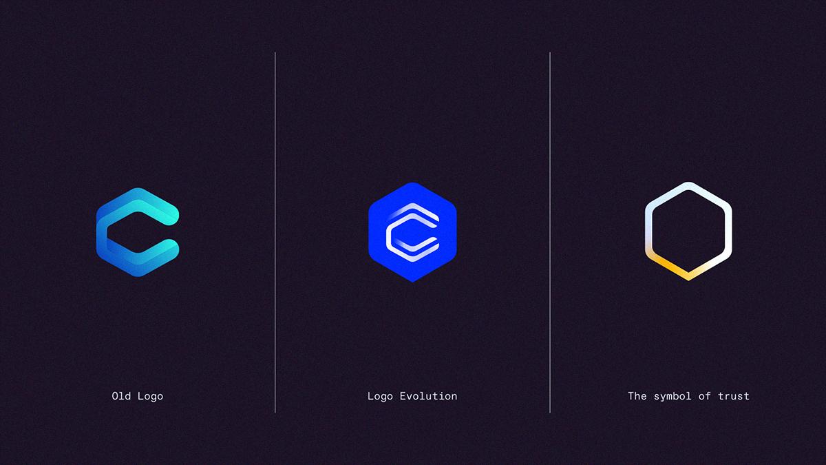 Logo evolution.