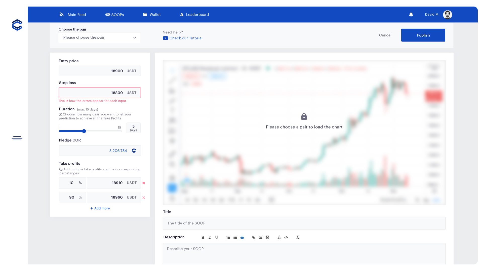 ALPHA Preview — Cretate predictions   Make your analysis and place your predictions to enter the SOOPs