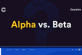 The difference between Alpha & Beta