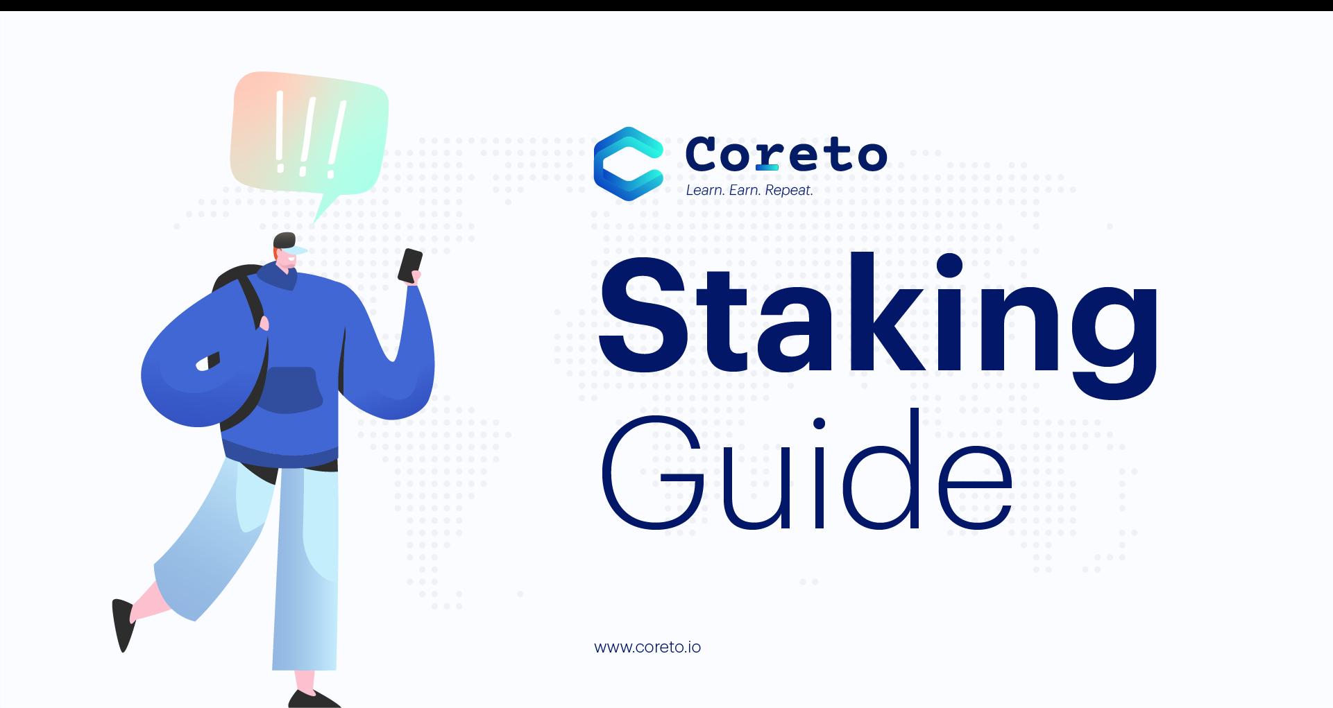 Coreto (COR) Staking Guide