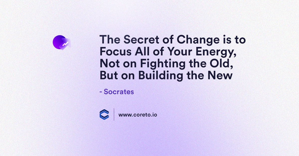 Coreto will CERTAINLY become one of the main sources of information and inspiration when it comes to DYOR