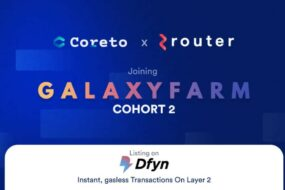 Coreto Announces new Partnership with Router Protocol and listing on Dfyn L2 Exchange
