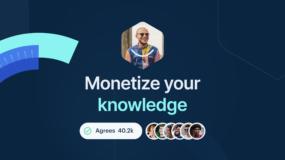 crypto content monetization platform
