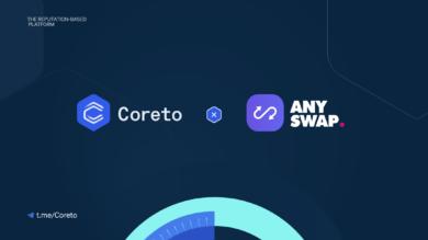 coreto-bridge-anyswap-partnership